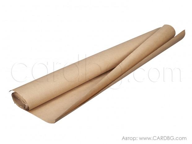 Опаковъчна крафт хартия кафява на лист 70/100 см., 80 гр