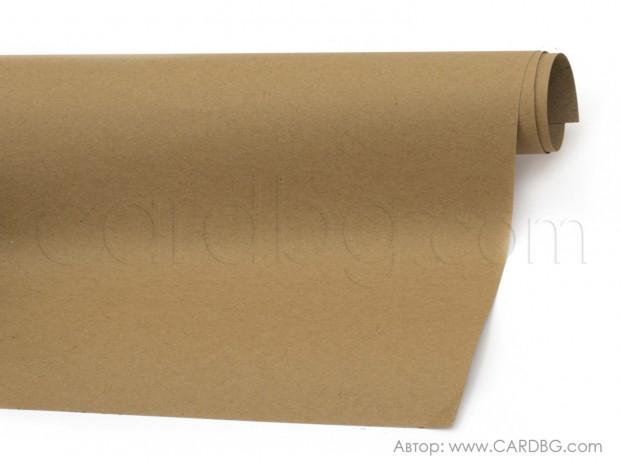 Крафт хартия плътна, кафява 70/100 см., 140 гр.