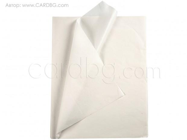 Тишу хартия бяла 50х75 см, 20 листа в пакет