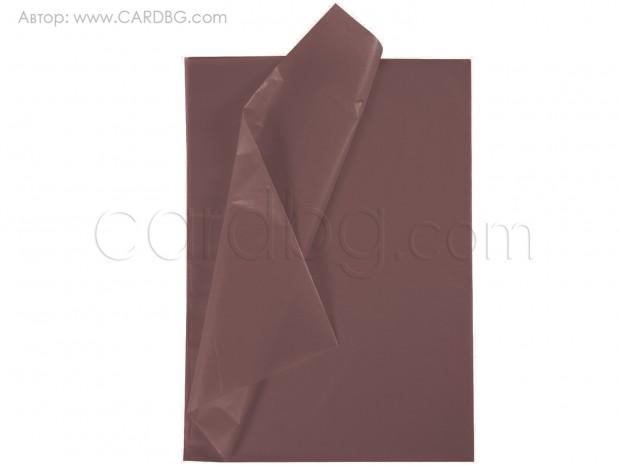 Хартия тишу кафява, 50х76 см, 20 листа