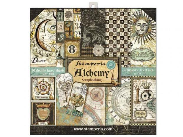 Дизайнерски картон Stamperia, 10 листа, 30,5х30,5 см