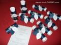 Покана свитък с листа в тъмно синя и бяла перла