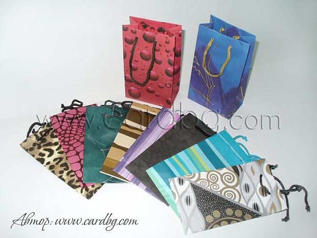 Код дм 07 хартиени торбички малки от цветен крафт р-р 11х18х6 см