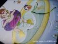 Голяма детска картичка за момченце с басейн и пояс № 15312