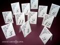Картички с номер на маса