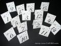 Тейбъл картичка номер за маса