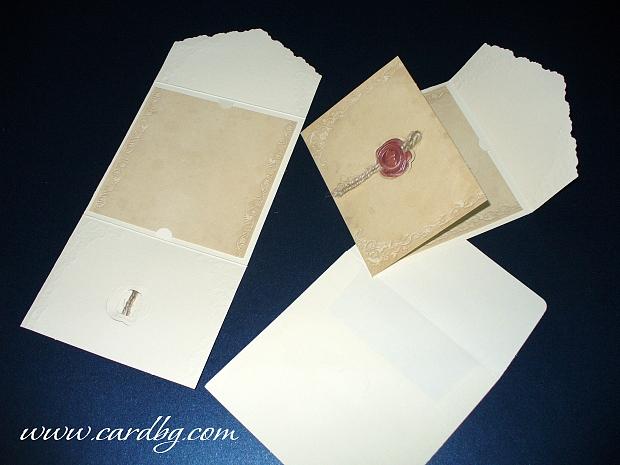 Сватбена покана № 31302