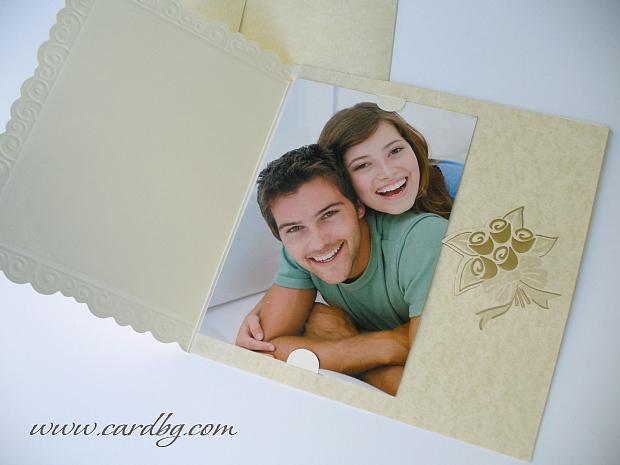 Сватбени покани за снимка № 31513