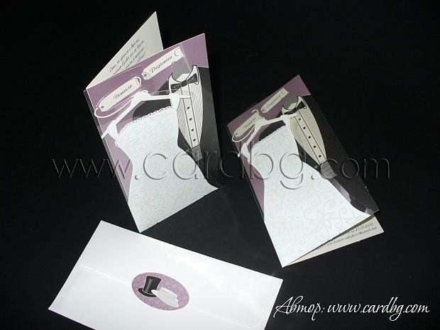 Сватбена покана № 32402