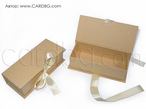 Луксозна кутия за свитъци, бижута, сапуни р-р 16х7х4,5 см код RHBR