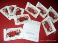 Новогодишни картички с коледни пожелания и фирмено лого