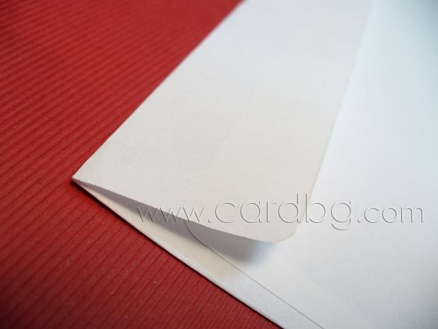 Бял обикновен плик