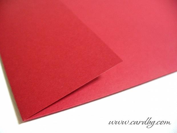 Червен пощенски плик AN01