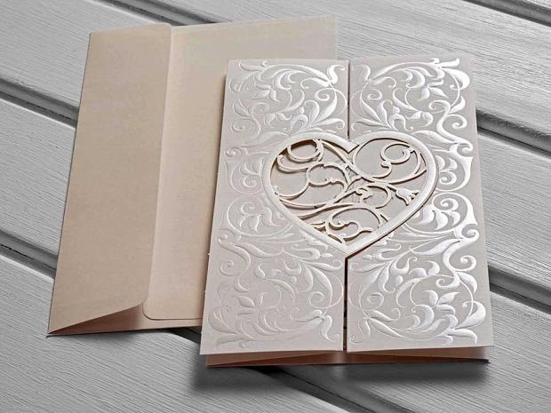 Картичка сърце № 10525