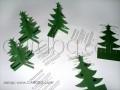 Коледни картички със зелена елха 3d № 06