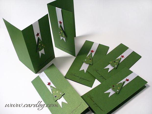 Коледни картички лукс № 09