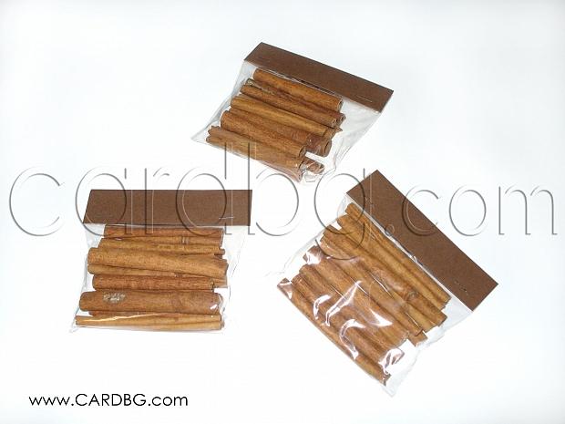 Канелени пръчки дължина 10 см, 10 бр в пакет за декорации и украси