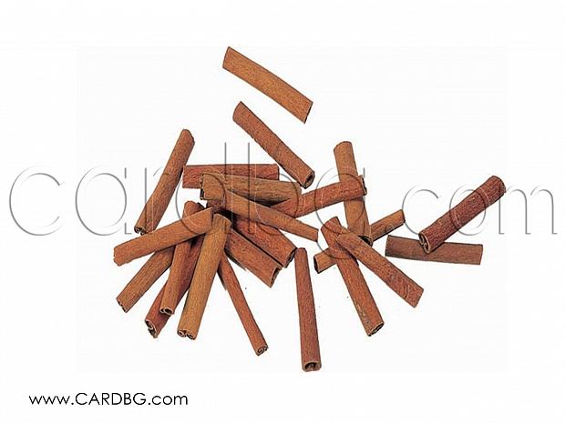 Канела, естествени канелени пръчици 10 см на пакет по 10 бр. за украси