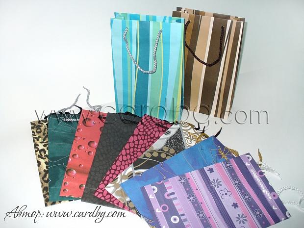 Код 08: торбички с различни десени размер за книга 17х27х7 см