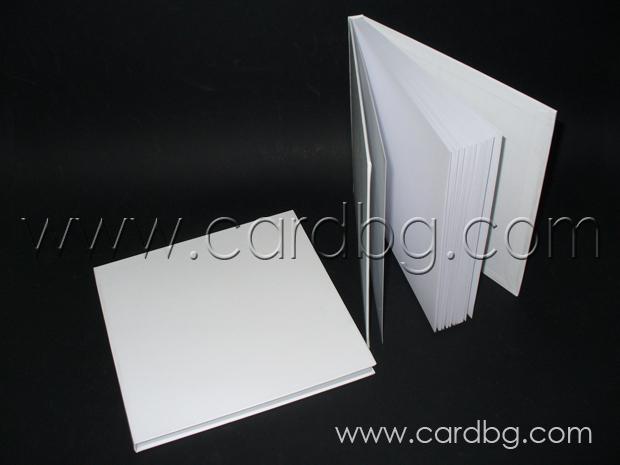 Бели книги за пожелания за спомен без украса за аранжиране