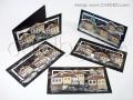 Уникални коледни картички ръчна изработка зимни къщи