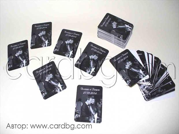 Магнити черно-бели размер 6х9 или 8х5 см