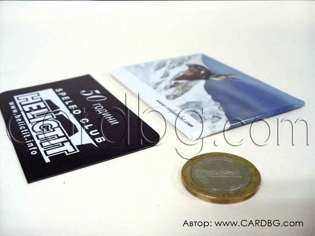 Обемни магнити дебелина 3 мм с магнитно фолио и гланц р-р 6 х 8 см