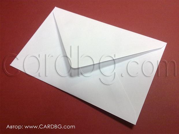 Голям пощенски плик с триъгълен капак р-р 18х25 см цена на брой
