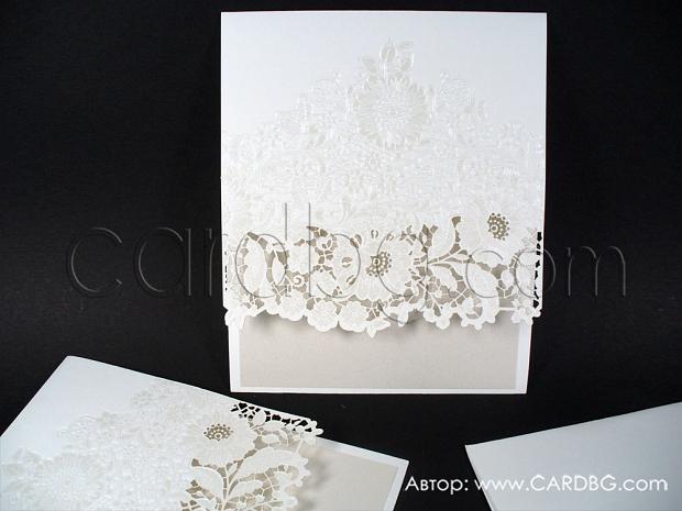 Луксозна картичка с лазер № 39321