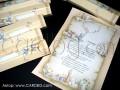 Детска покана за кръщене свитък с кутия № 15103