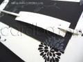 Стилни луксозни картички в бяло и черно № 32704