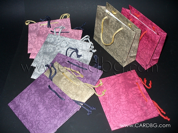 Код 19: торбички за подаръци малък квадрат