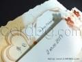 Сватбени покани в оранжево и червено № 31315