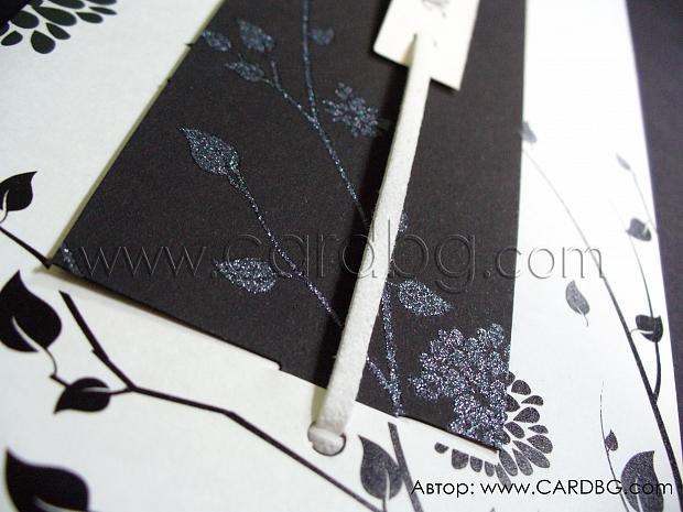 Стилни картички за юбилей № 32704