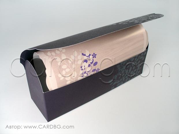 Луксозна картичка в кутия № 39237