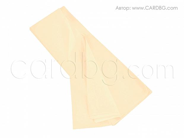 Тишу хартия слонова кост, 50х76 см, 20 листа в пакет