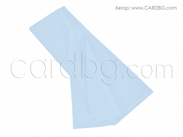 Хартия тишу светло синьо, бебешко синьо 50х75 см
