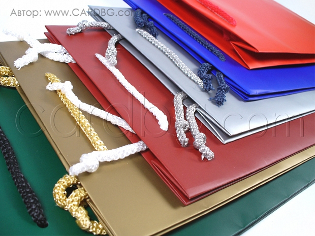Цветни торби 6 цвята среден квадрат р-р 23х24 см
