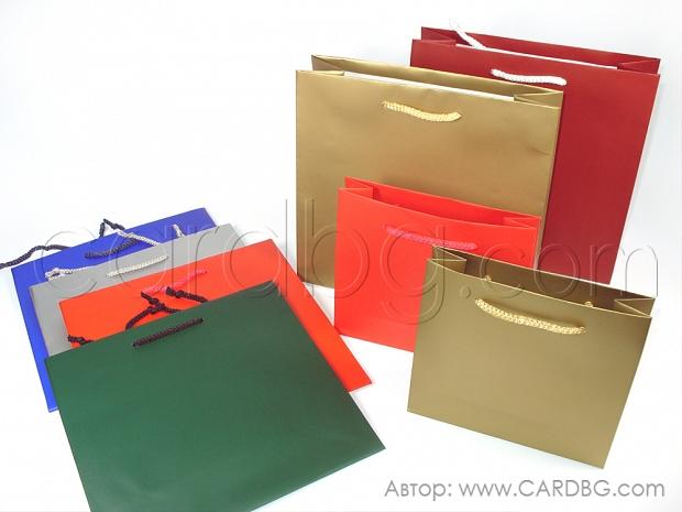 Цветни торби 6 цвята малък квадрат р-р 16х17 см