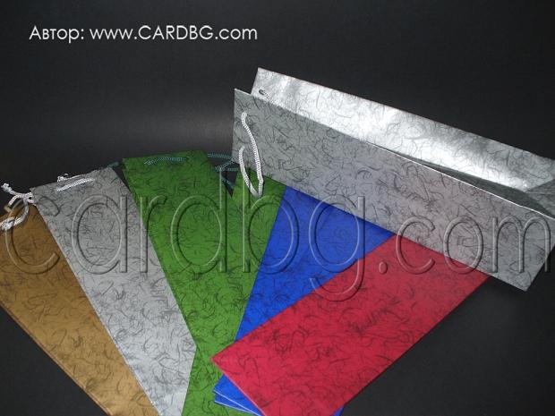 Торбички за бутилка, цветове микс