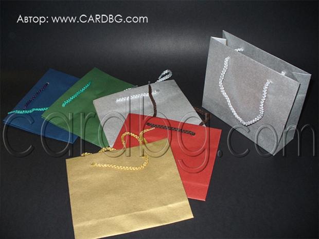 Код 29 торбички цветове микс, малък квадрат р-р 16х18х6 см