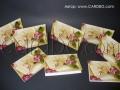 Картички за юбилеи с релефни цифри за 25, 65 и 75 години