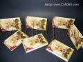 Луксозни картички с релефни цифри за 40, 50 и 60 години