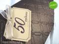 Луксозни картички за юбилей 50 години № 34943 в